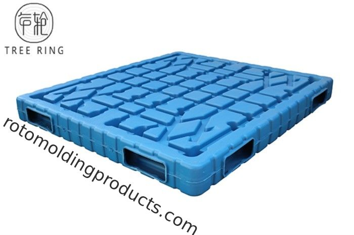 Large Hygienic Blow Molded Plastic Shipping Pallets Reusable 1500 * 1200 * 160 Mm