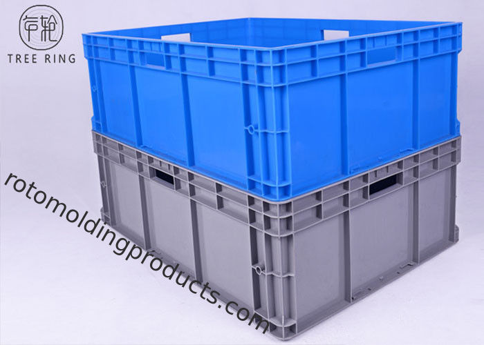 Palletshard Wearing Euro Stacking Containers , Heavy Duty Stackable Storage Container