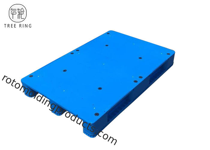 Smooth Flat Top HDPE Plastic Pallets , 4 Way Food Grade Plastic Pallets FP1200 * 800