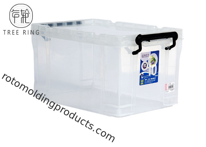Lightweight Collapsible Plastic Crate Stackable 700 * 480 * 380mm 100 Litre
