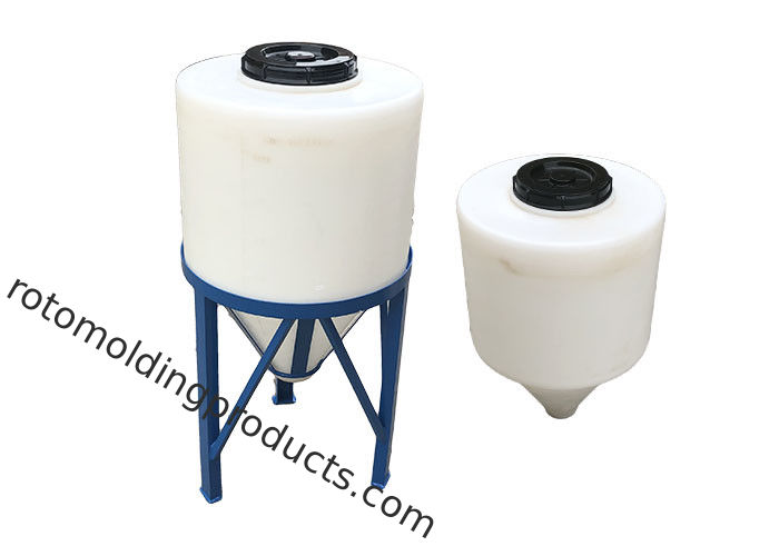 120L Rotomolding Poly Cone Bottom Tank For Dosing And Pre Mixing Of Spray Chemical